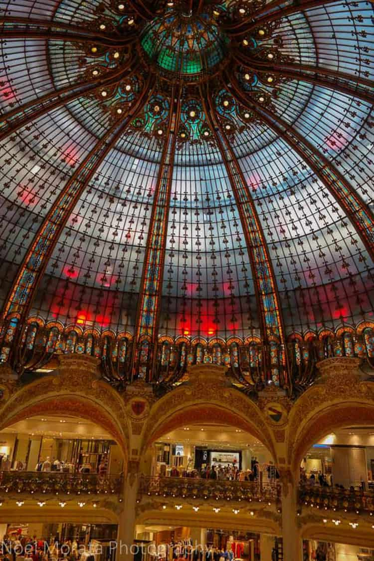 Paris for the Holidays - Galleries Lafayette
