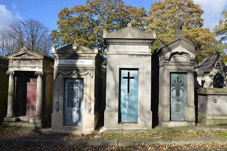 Paris for the Holidays - Père Lachaise Cemetery