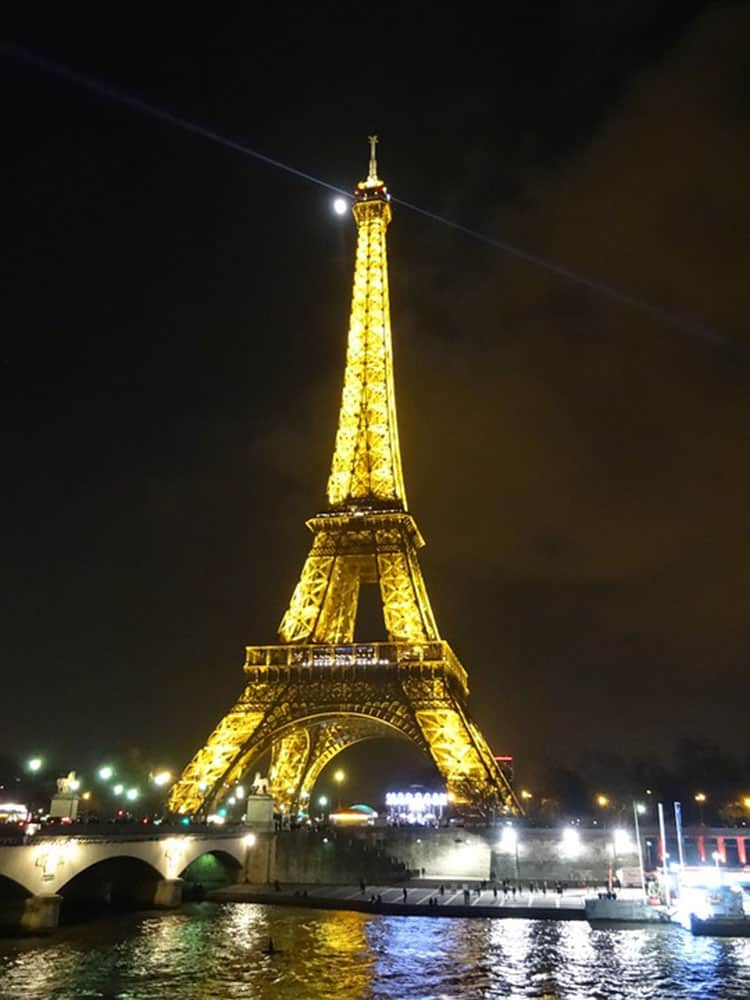 Paris for the Holidays - Seine Cruise