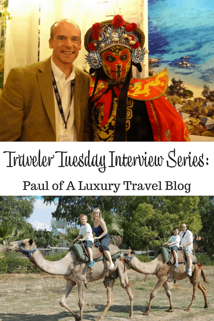 Paul of A Luxury Travel Blog