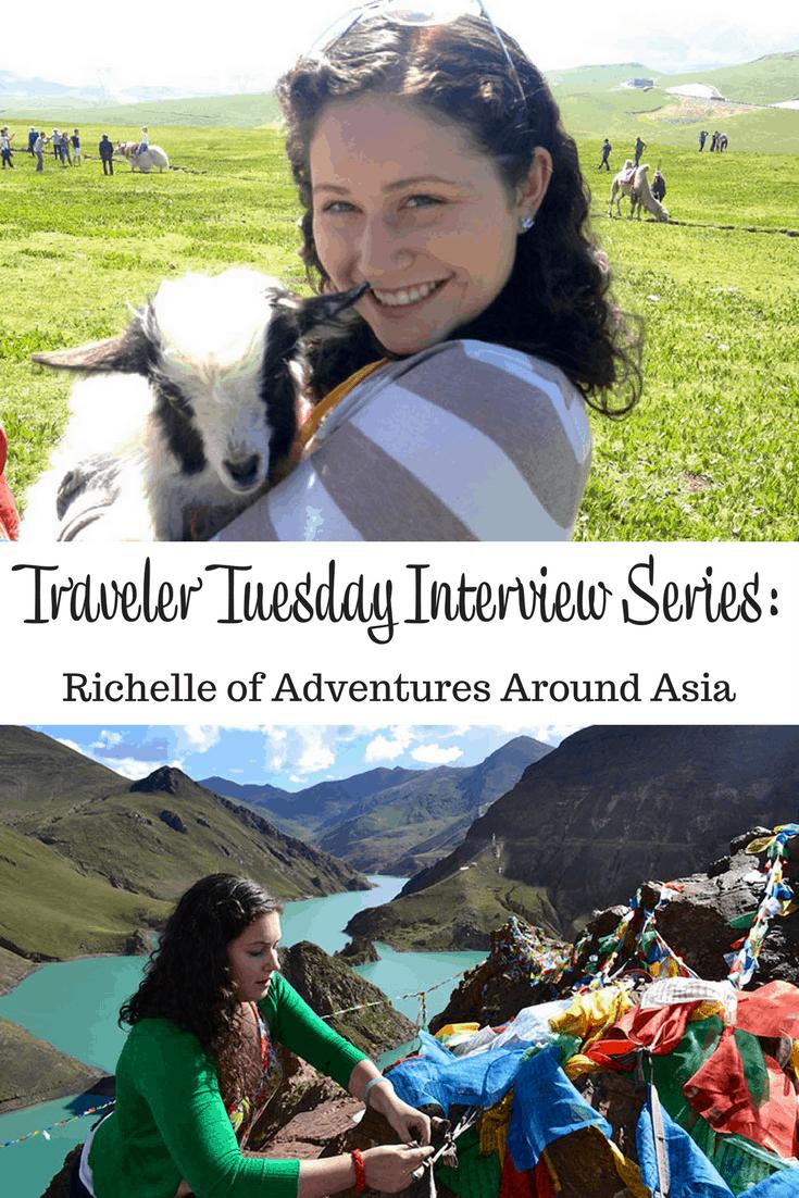 Richelle of Adventures Around Asia