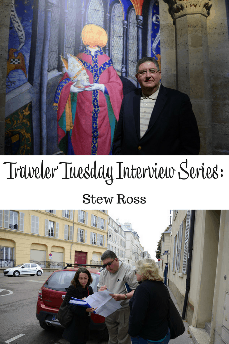 Traveler Tuesday – Stew Ross