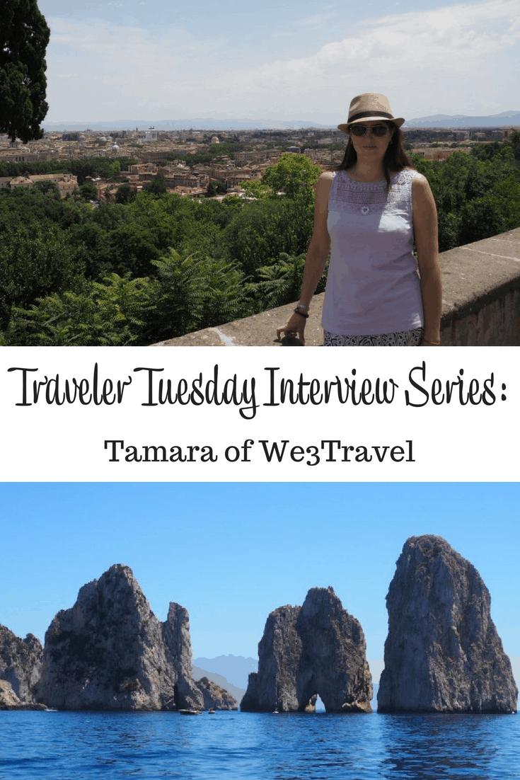 Tamara of We3Travel