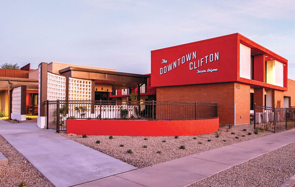 The Downtown Clifton Hotel in Tucson Arizona