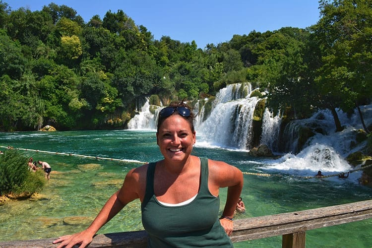 Traveler Tuesday – Abbie of Speck on the Globe - Waterfall