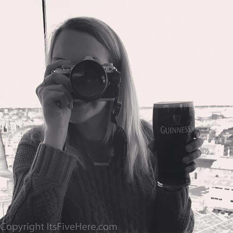 Traveler Tuesday - Julianne of It's Five O'Clock Here - Guinness