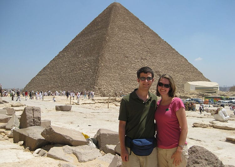Traveler Tuesday - Julianne of It's Five O'Clock Here - Pyramid