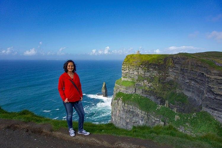 Traveler Tuesday - Marissa of Little Things Travel - Marissa Sutera Cliffs of Moher Ireland