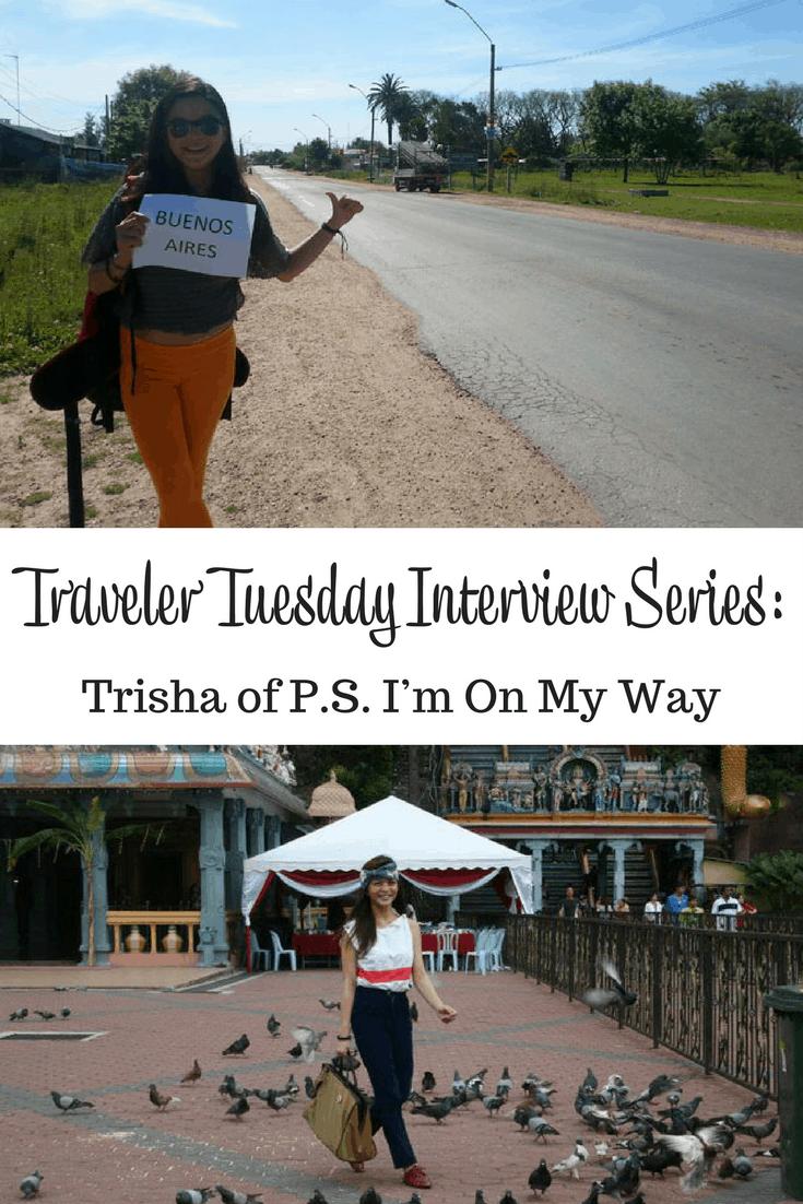Trisha of P.S. I'm On My Way
