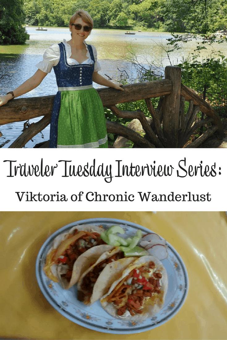 Viktoria of Chronic Wanderlust