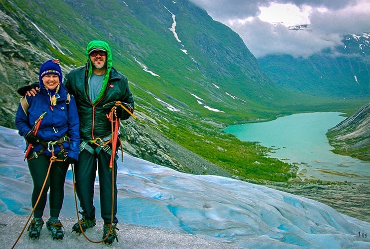 Traveler Tuesday – Bret and Mary of Green Global Travel_Norway Glacier