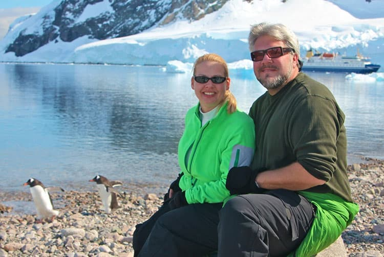 Traveler Tuesday – Bret and Mary of Green Global Travel_Penguins