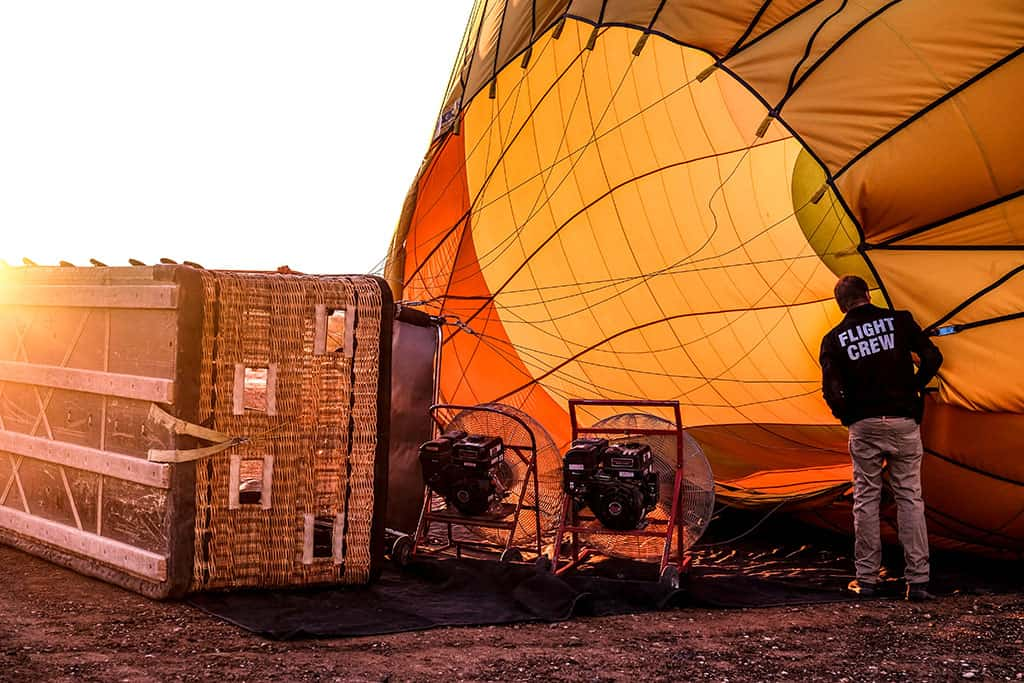 hot air balloon scottsdale - Balloons AZ Balloon at Sunrise