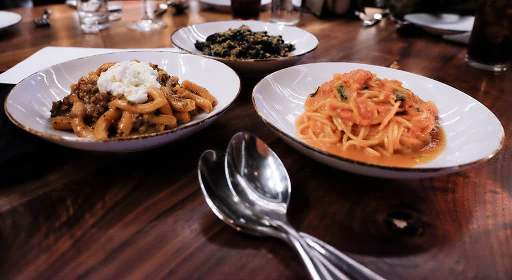 Where to Eat in Phoenix: Mora Scottsdale Trio of Pastas