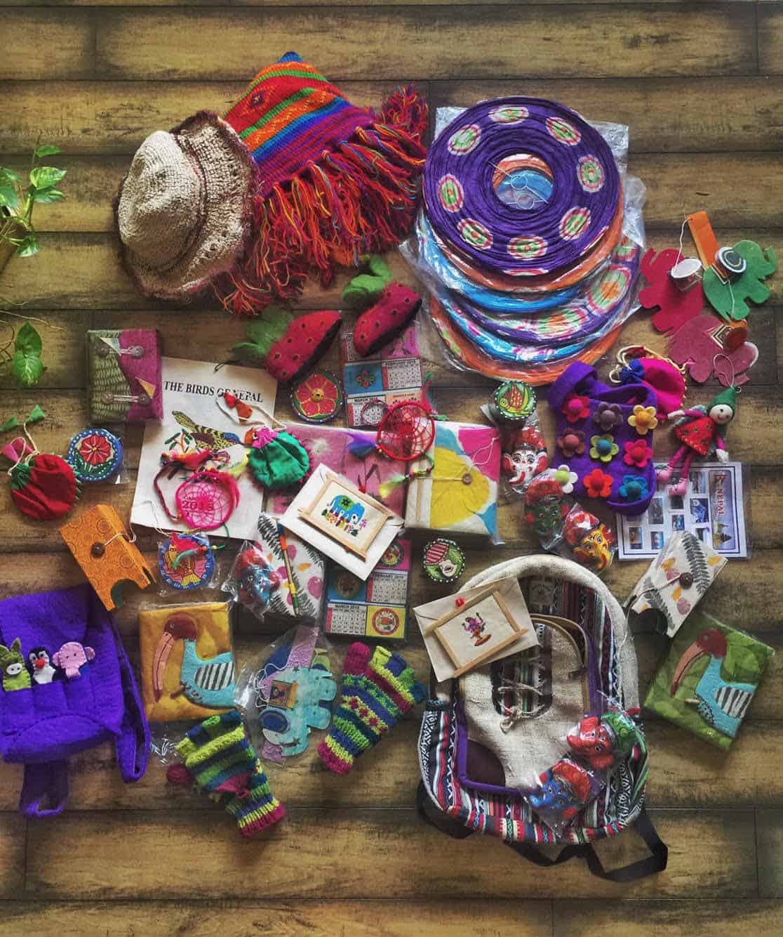 Traveler Tuesday - Divsi of Quirky Wanderer Loot from Nepal