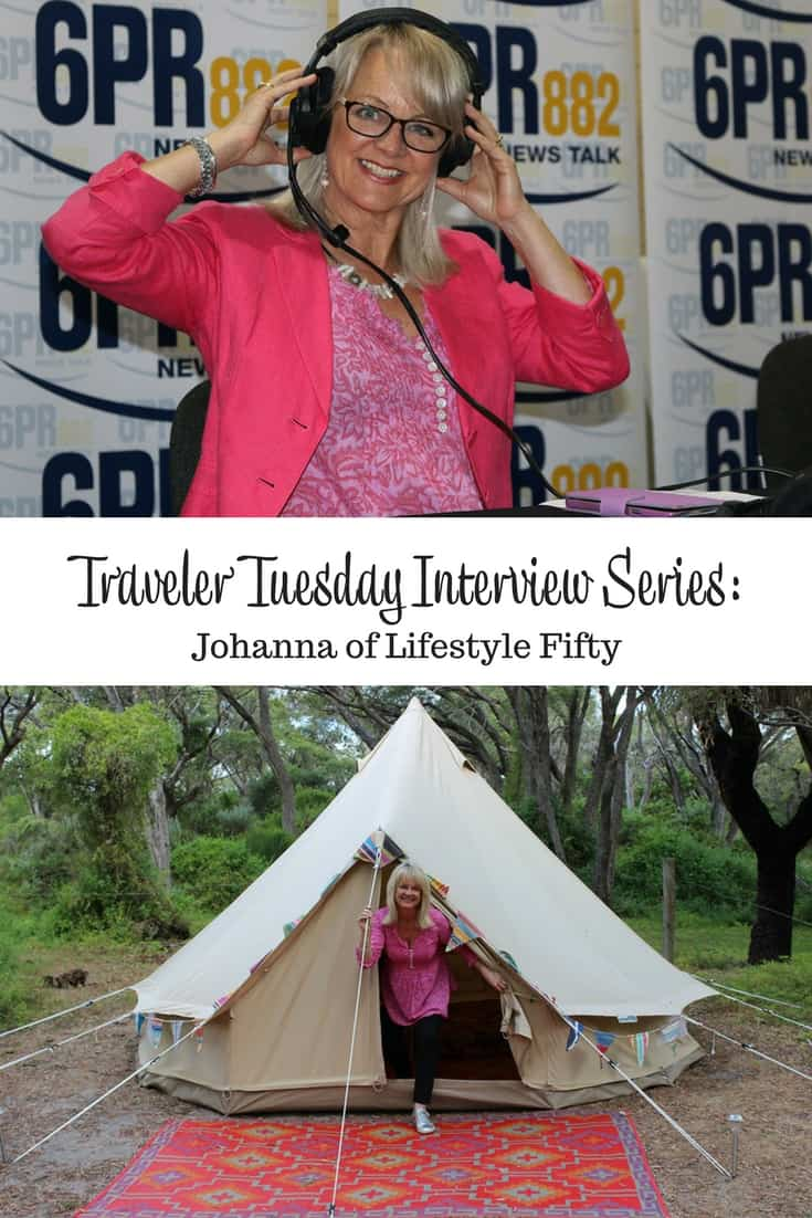 Traveler Tuesday Travel Blogger Interview with Johanna of Lifestyle Fifty