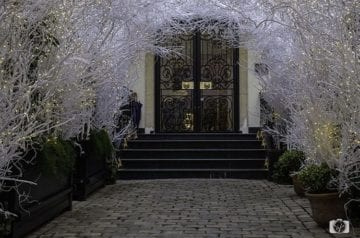 Holiday-Entrance-at-the-Relais-Christine-Paris