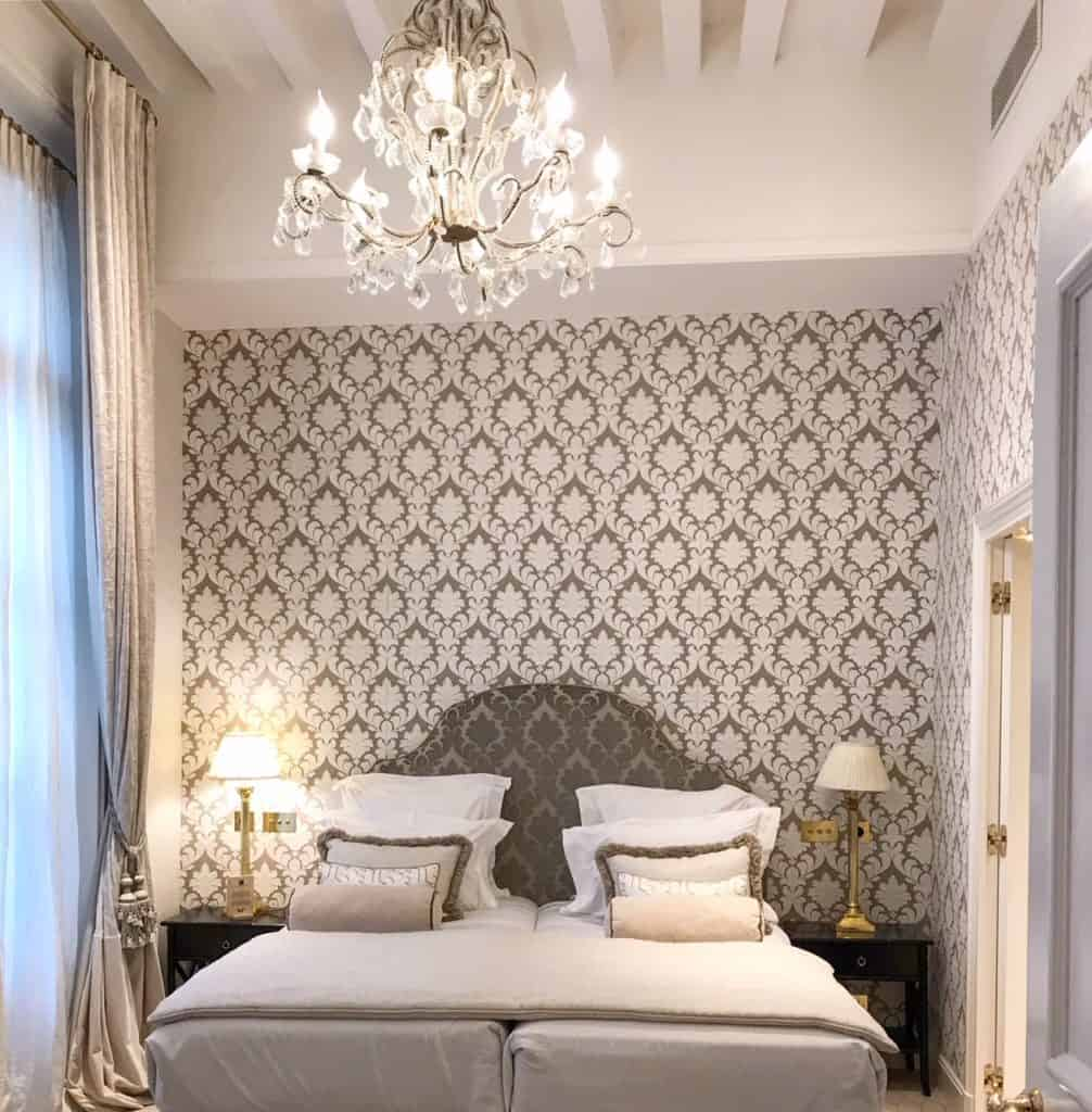 Laura-Gonzalez Designed Room at the Relais Christine
