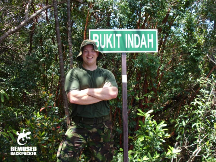 Traveler Tuesday - Michael of Bemused Backpacker_Michael Huxley jungle