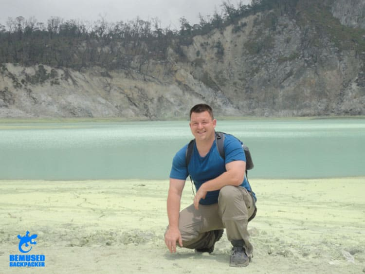 Traveler Tuesday - Michael of Bemused Backpacker_Michael Huxley volcano trekking