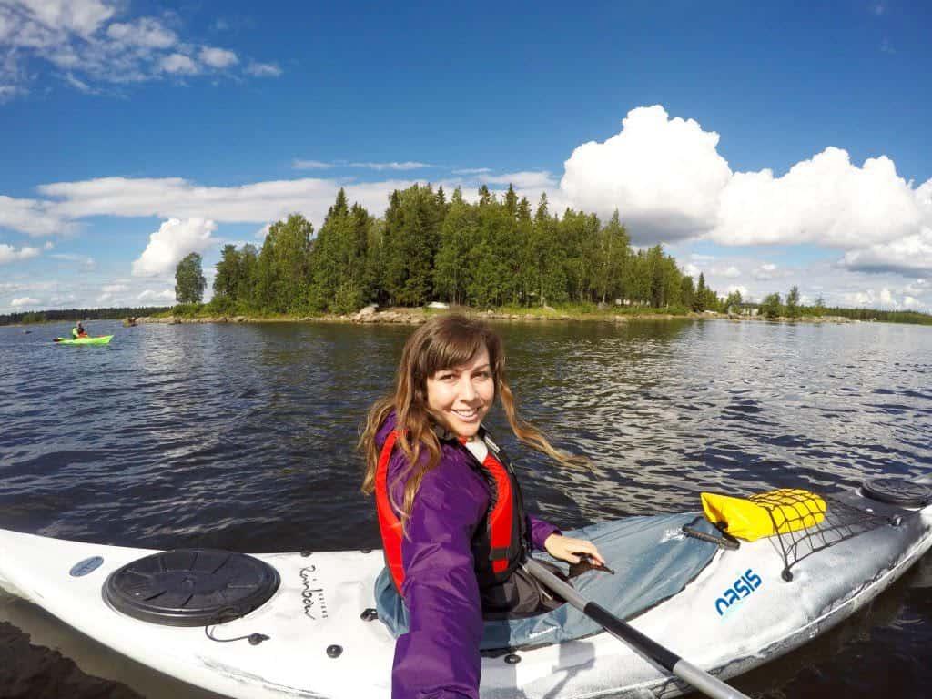 Traveler Tuesday - Sonja of Migrating Miss Kayak
