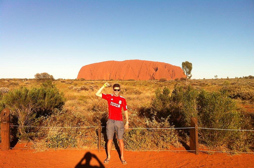 Traveler Tuesday - Tom of The Travelling Tom Uluru