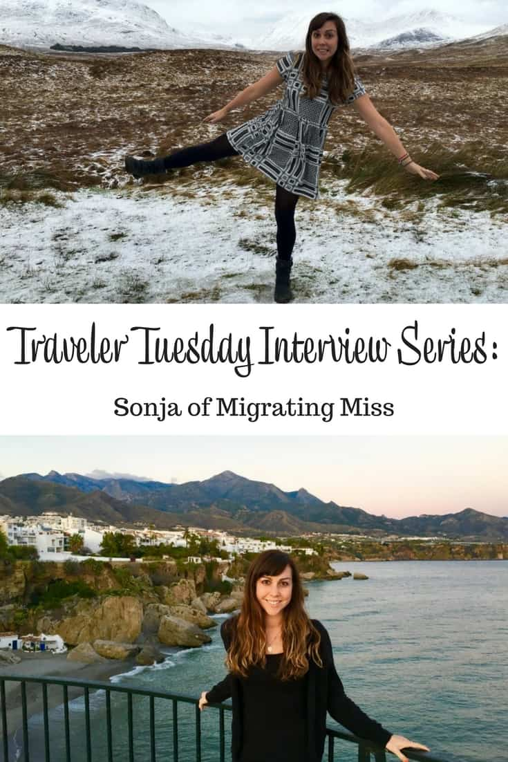 Traveler Tuesday Travel Blogger Interview with Sonja of Migrating Miss