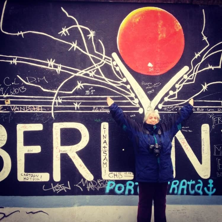 Traveler Tuesday - Corinne of Reflections in Route_Corinne Berlin Wall