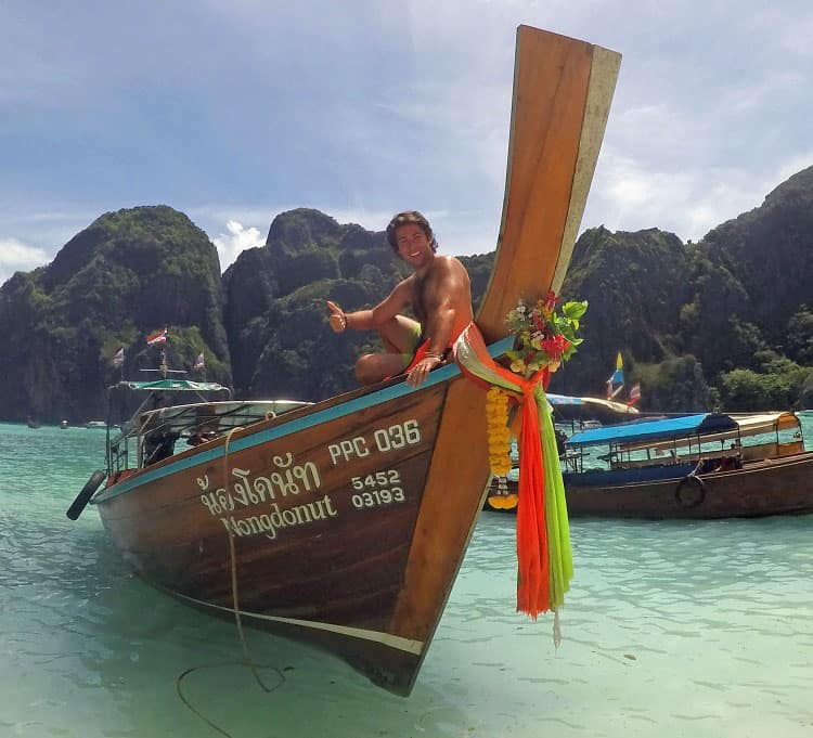 Traveler Tuesday - Craig of Vagabond Disposition_Maya Bay