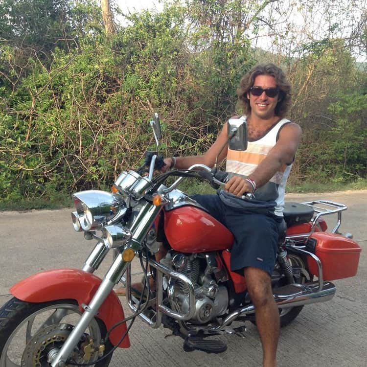 Traveler Tuesday - Craig of Vagabond Disposition_Motorcycle Thailand