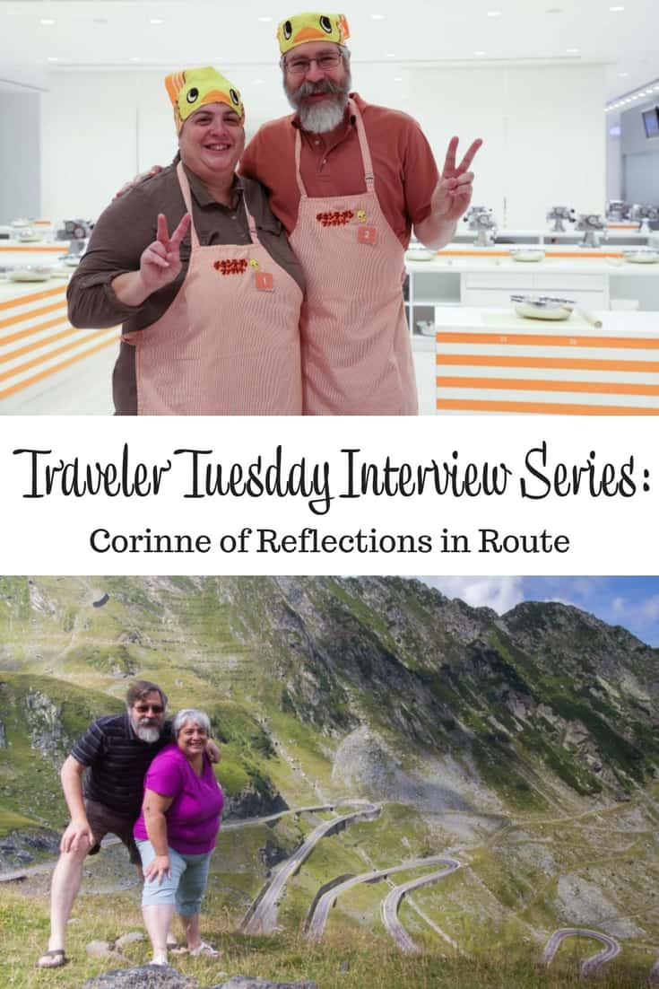 Traveler Tuesday Travel Blogger Interview with Corinne of Reflections in Route