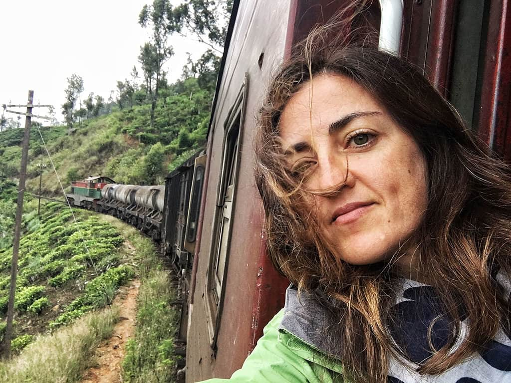 Claudia of My Adventures Across The World Train