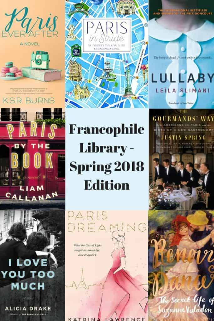 Francophile Library - Spring 2018 Edition