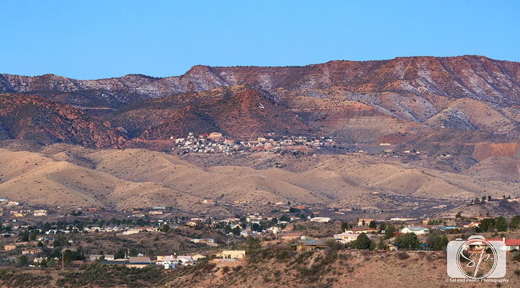The 50 Best Day Trips from Phoenix - Jerome Arizona in the hills above Clarkdale