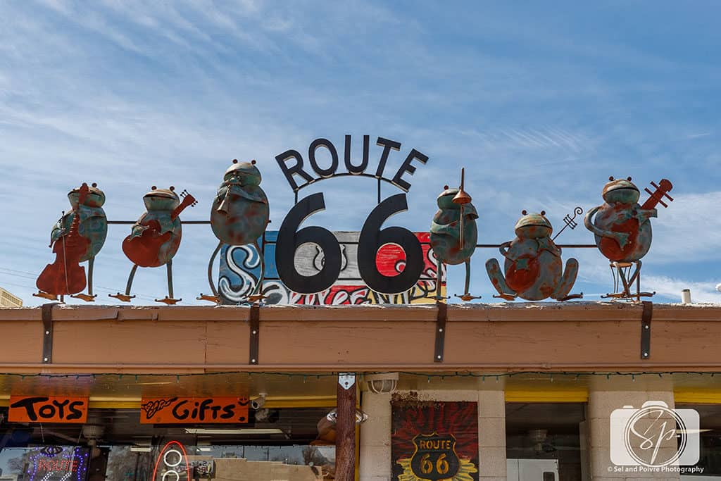 Route 66 Frogs Seligman Arizona
