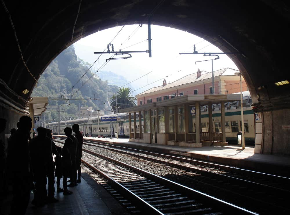 Traveler Tuesday - Karen of World Wide Writer_Waiting for a train in Italy