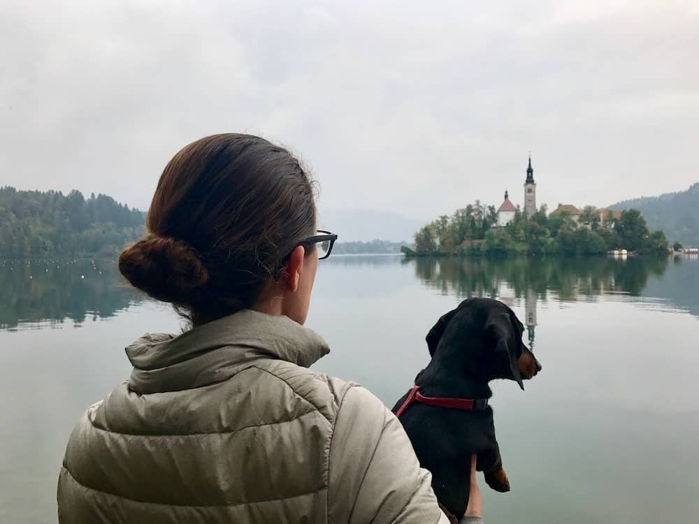 Traveler Tuesday - Shandos of Travelnuity_Shandos and Schnitzel Lake Bled with Schnitzel