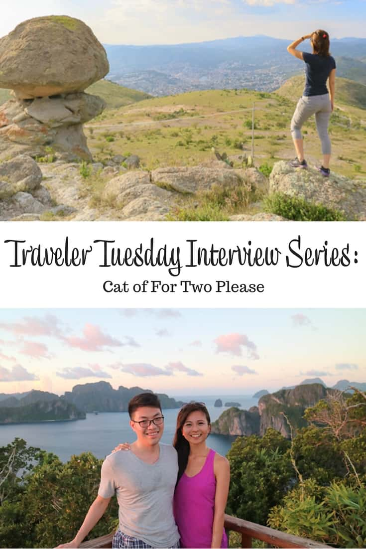 Traveler Tuesday - Cat of For Two Please