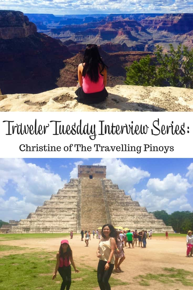 Traveler Tuesday Travel Blogger Interview with Christine of The Travelling Pinoys