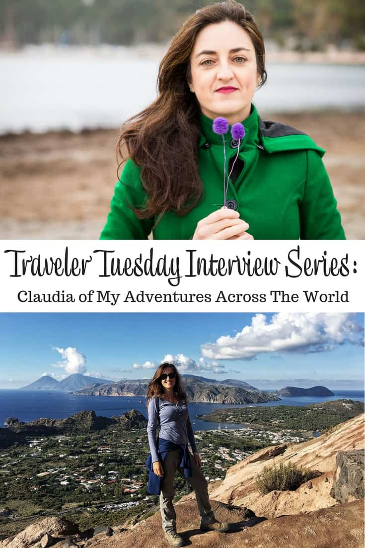 Traveler Tuesday - Claudia of My Adventures Across The World