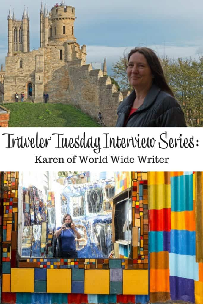 Traveler Tuesday Travel Blogger Interview with Karen of World Wide Writer