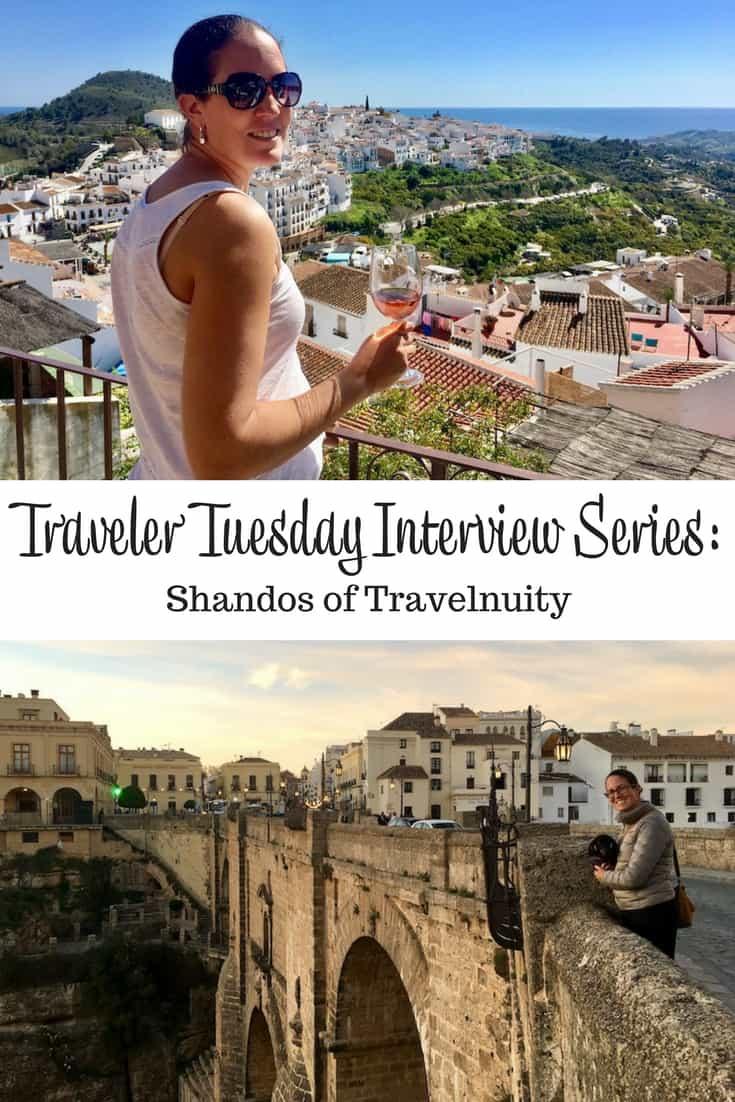 Traveler Tuesday - Shandos of Travelnuity