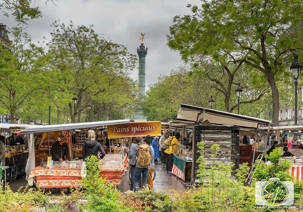 Marché Richard Lenoir - Paris-Bastille-Farmers Market