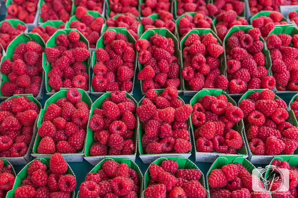Paris-Rue Poncelet-Market Raspberries