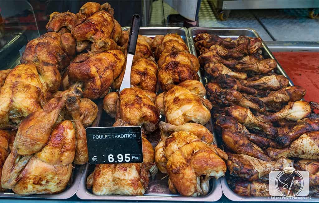 Paris-Rue Poncelet-Market-Rotisserie Chicken