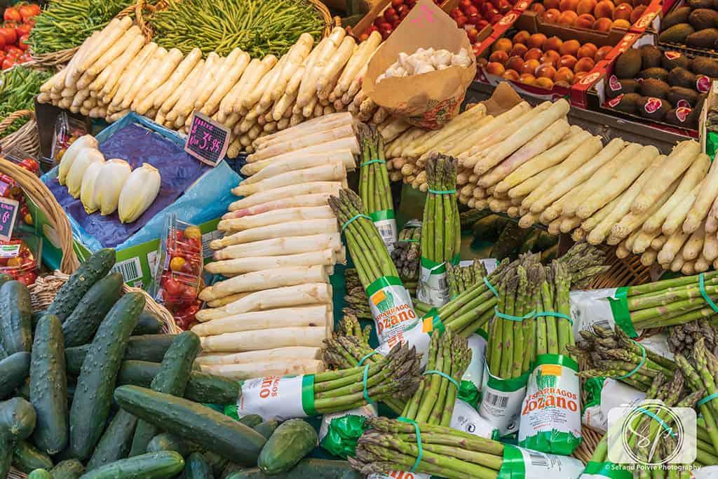 Paris-Rue Poncelet-Market-Spring Vegetables