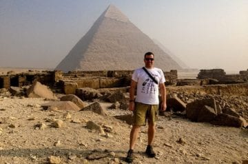 Traveler Tuesday – Michael of Around the World Guys Demmons_Pyramids
