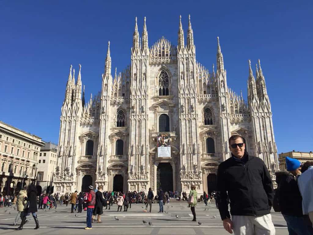 Traveler Tuesday – Michael of Around the World Guys_Demmons_MilanCathedral