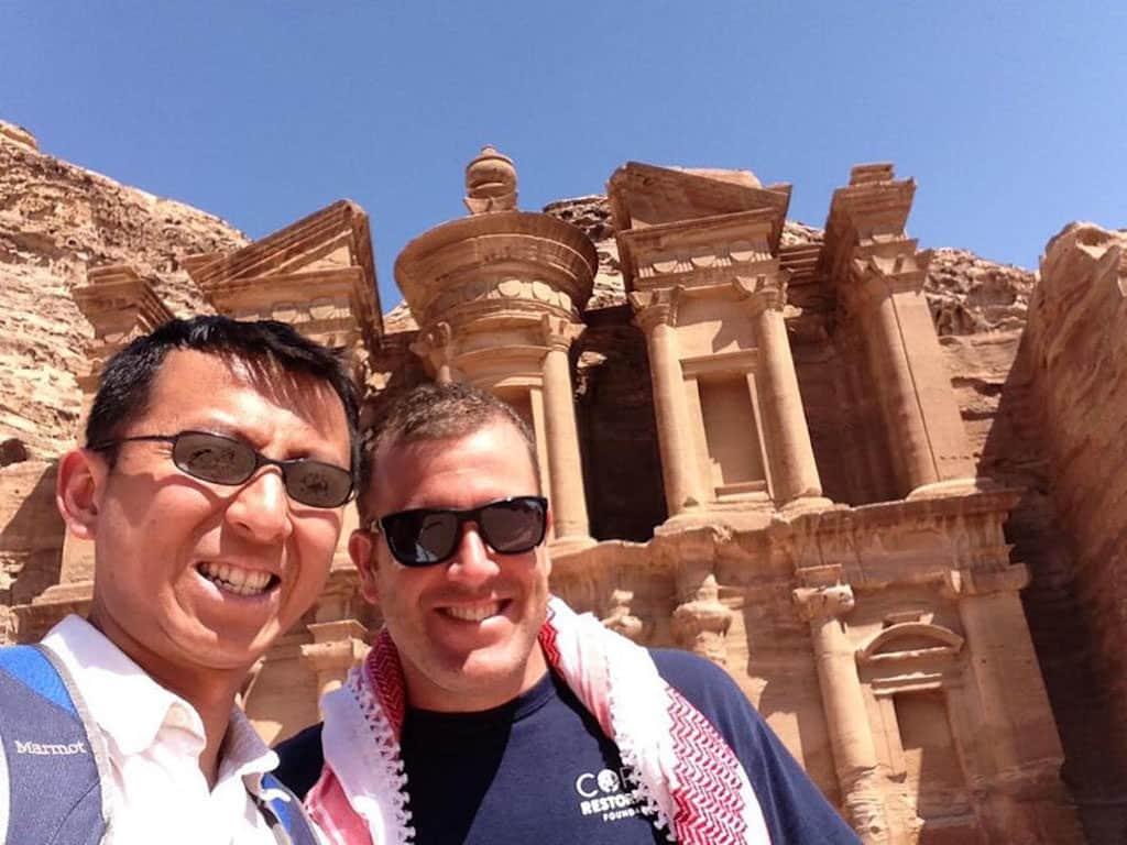 Traveler Tuesday – Michael of Around the World Guys_Demmons_Petra