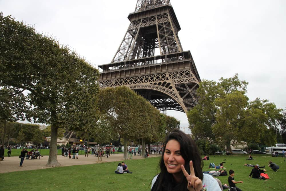 Traveler Tuesday - Amanda of Edible Explorations_LazyEiffelTower